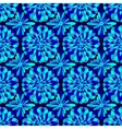 abstract seamless blue pattern vector image