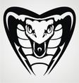 Cobra Head Tribal vector image
