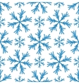 Falling snow seamless pattern White splash vector image