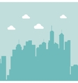 city landscape background vector image