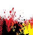 Hot tone vector image