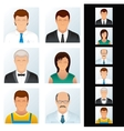 Avatar People Icons vector image