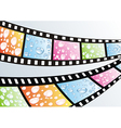 a film strip vector image vector image
