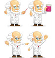 Scientist or Professor Customizable Mascot 11 vector image
