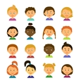 Cartoon characters Style flat vector image