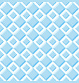 seamless pattern of blue diamonds vector image