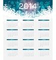 2014 new year calendar vector image