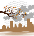 ecology design vector image vector image