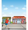 Joggers and sports outlet vector image