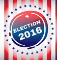 Election Day 2016 Flyer vector image