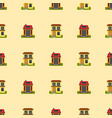 historical city modern world seamless pattern vector image