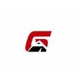 Letter G logo design vector image