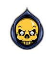 Reaper Head vector image