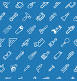 tilable tools background texture vector image
