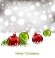 Xmas Winter Background vector image