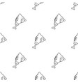 grilled drumstick icon in black style isolated on vector image
