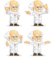 Scientist or Professor Customizable Mascot 12 vector image vector image