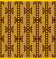 african textile design ornamental seamless vector image vector image