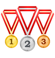 Medals 3 vector image