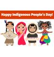 Indigenous vector image