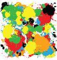 ink spots vector image