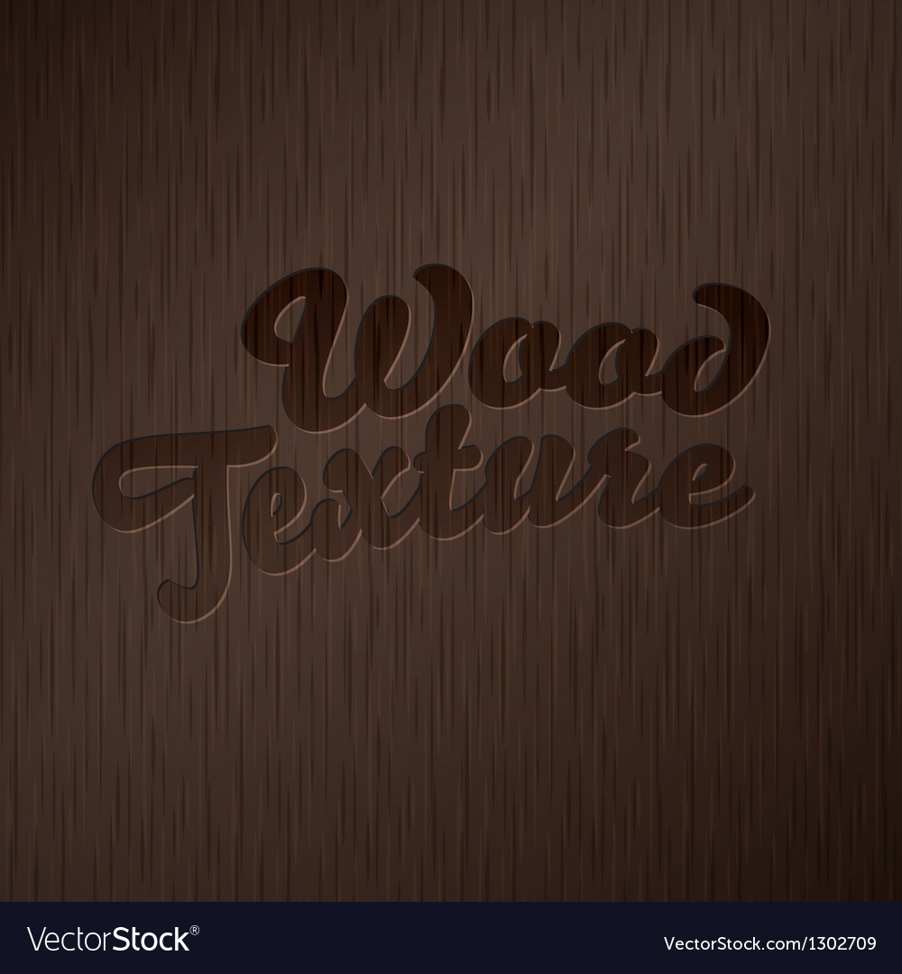 Abstract wood texture vector