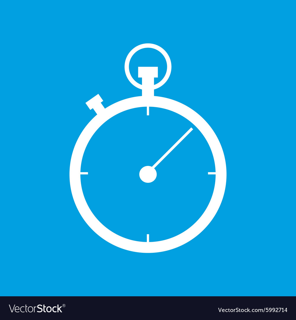 Stopwatch icon 2 simple vector