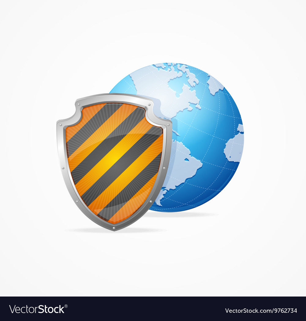Global safety concept vector