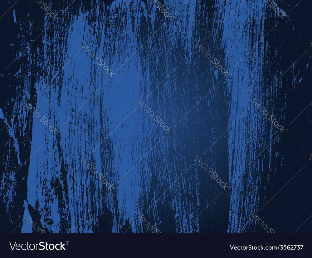 Dark blue grunge texture vector
