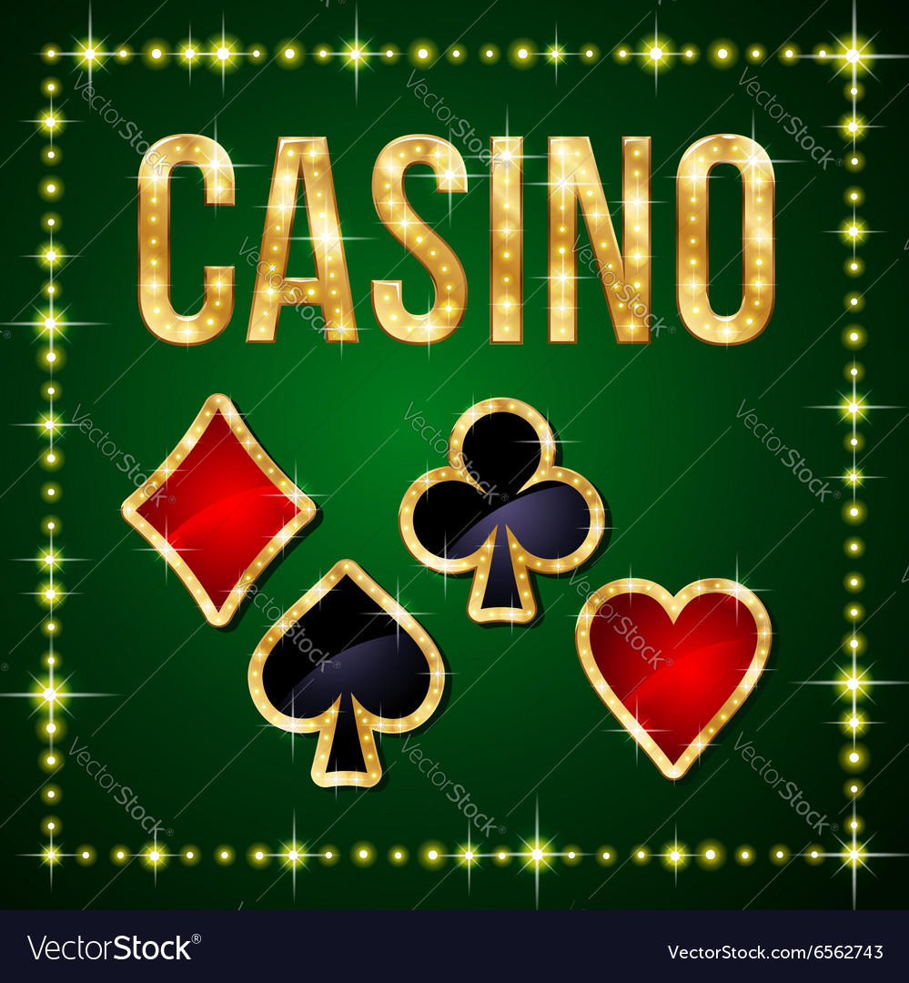 Casino poker vector