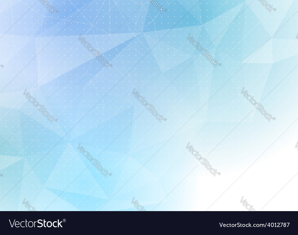 Crystal pattern structure modern abstract dot vector