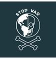Stop War Poster vector image