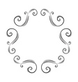 Decorative ornate Frame Border vector image