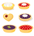 Sweet pastry vector image vector image