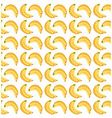 banana fruit seamless pattern design vector image