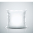 Isolated pillow vector image
