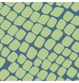 Seamless green pattern with paving stones vector image
