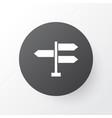 signpost icon symbol premium quality isolated vector image