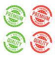 quality premium seal stamp vector image