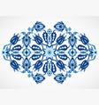 arabesque vintage damask floral decoration lace pr vector image