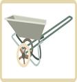 Cart mortar vector image