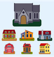 historical city modern world most visited famous vector image