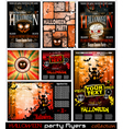 Halloween Poster Background vector image