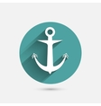 Anchor minimal Icon vector image