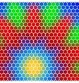 honeycomb - abstract geometric hexagon flower vector image
