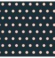 Geometric pink peas seamless pattern vector image