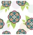 FloraFloral vivid seamless pattern vector image vector image