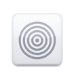 white darts icon Eps10 Easy to edit vector image vector image
