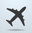Icon of Plane vector image