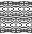 triangular tile geometric seamless pattern vector image